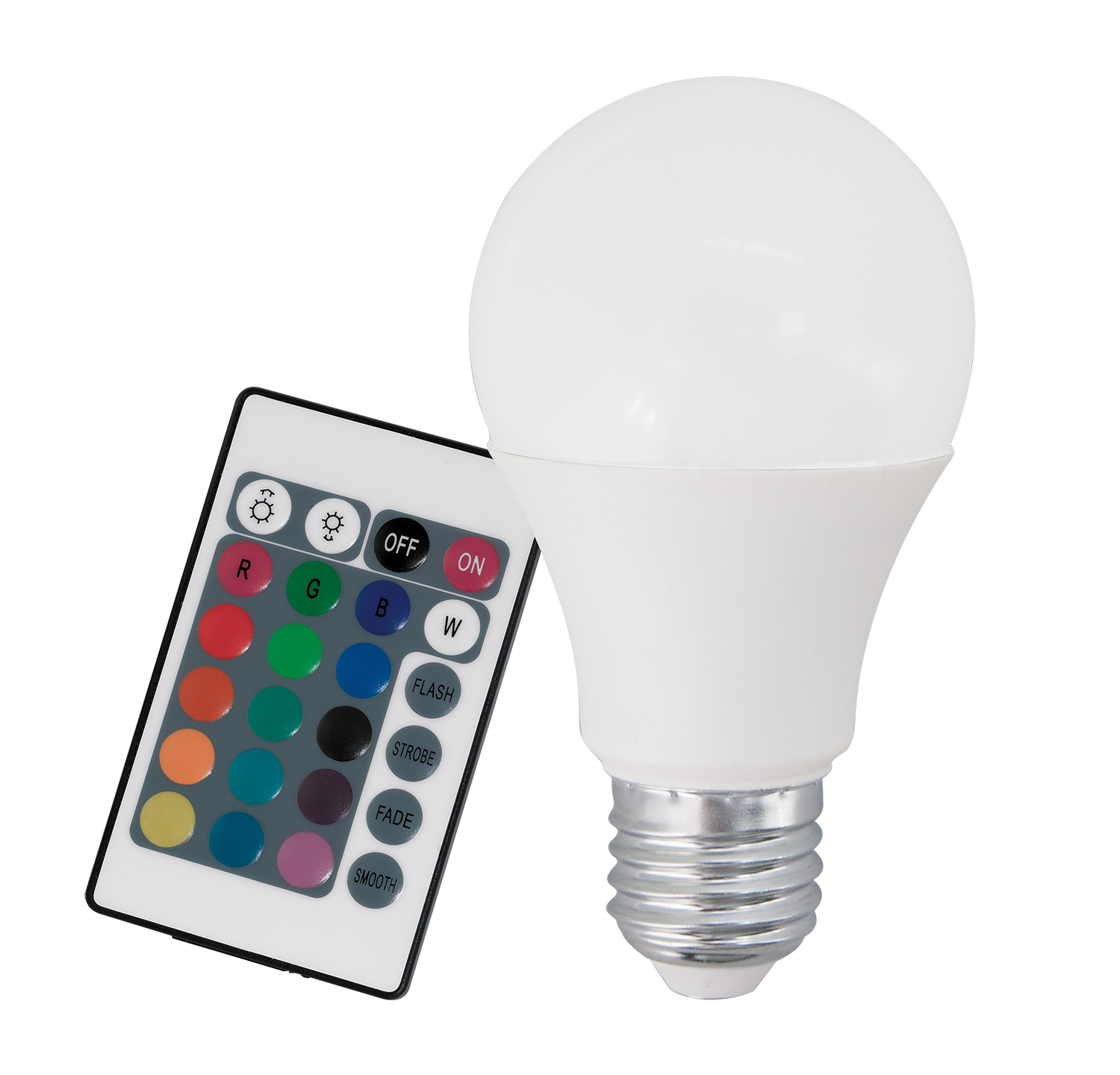 Лампа LED Eglo 10899 A60 7.5W RGB 220V E27 Dimmable ПДУ