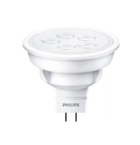 Лампа светодиодная Philips Essential LED MR16 4.5W GU5.3 6500K 100-240V 36D