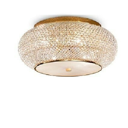 Люстра Ideal lux 100807 D400mm Pasha Gold